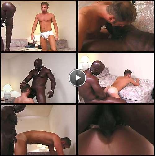 black gay dick video