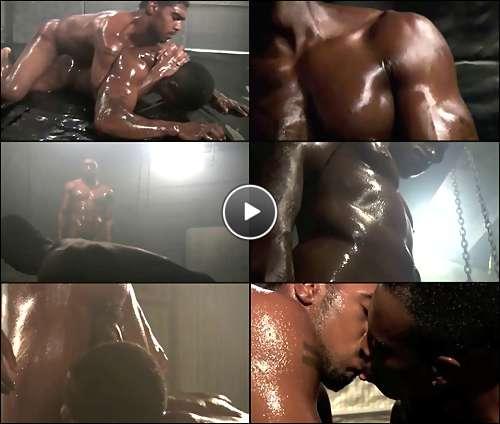 black men gay wrestling video