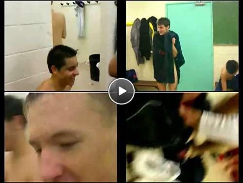 boys locker room spy cam video