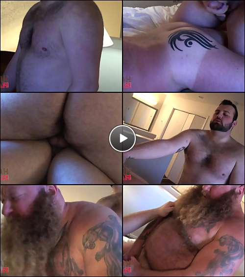 hairy gay bear men video